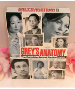 DVD's Greys Anatomy Complete Second Season 2 TV Series Medical Drama Gen... - $19.99