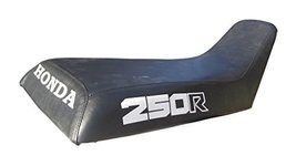 Honda ATC250R Seat Cover Black Color Honda And 250R Logo Year 1985 To 1986 - $45.99