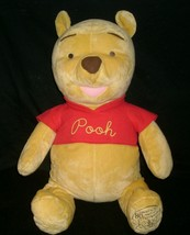 "24"" DISNEY WINNIE POOH FISHER PRICE 80 YEARS FRIENDSHIP STUFFED ANIMAL P... - $21.04"