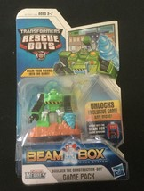 Transformers Rescue Bot BOULDER THE CONSTRUCTION BOT Figure Beam Box Gam... - $19.34