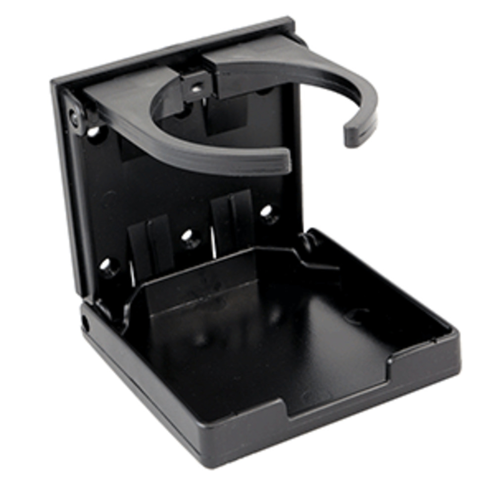 Primary image for Innovative Lighting Adjustable Fold-Down Cup Holder - No Hardware - Black