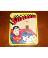 Vintage 1976 Superman Light Switch Lightswitch Plate - $11.69