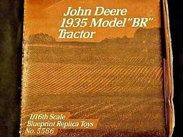 "John Deere 1935 model""BR"" TractorCollectors Edition AA18-JD0009 image 2"