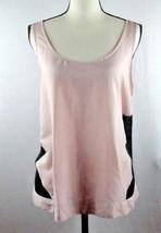 Women's BCBG Generation Sleeveless top Mash Sides Size Large L Rose Pink... - $19.99