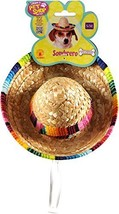 Rubie's Costume Company Pet Sombrero Hat With Multicolor Trim, Small/med... - $12.19