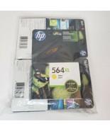 NEW HP #564XL PHOTO 4 Cartridge New Generation Genuine Black cyan yellow... - $33.66