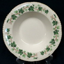 Homer Laughlin Green Ivy Liberty Pattern HCL39 8 Inch Soup Cereal Bowl C... - $19.75