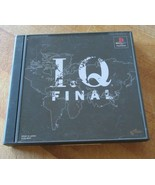 I. Q Final Sony PlayStation Japan Import US Seller - $17.81