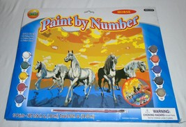 NEW CREATIVE KIDS Horses PAINT BY NUMBERS SET B... - $15.83