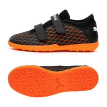 Puma Jr. Future 6.4 TT V Football Boots Youth Soccer Cleats Black 10621101 - $70.99