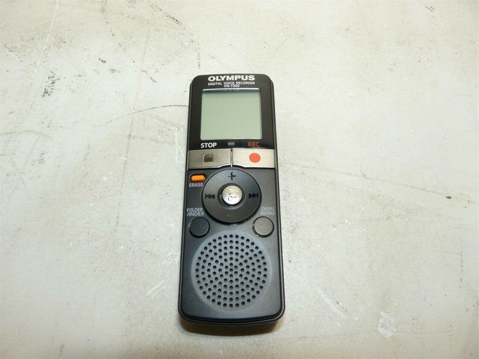 olympus digital voice recorder vn 7200 manual