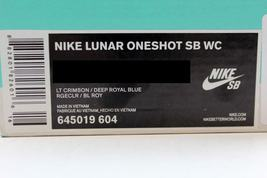 SB Oneshot Nike WC Royal Blue 645019 Men's SZ Deep 13 604 Lunar Light Crimson EAqqUZW5