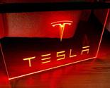 Tesla LED Neon Sign hang sign wall decor craft - £17.67 GBP - £121.75 GBP