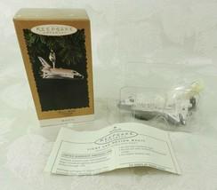 Hallmark Christmas Ornament - Magic Space Shuttle 1995 - $14.84