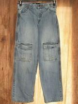 Gear Seven Collection Boy's Size 16 Jeans Knee Pocket Denim Blue Jean Pants - $19.80