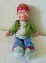"Disney Recess TJ Detweiler Boy Plush Doll Vinyl Head 11"" Mattel Arcotoys - $148.48"