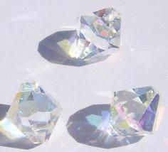 Swarovski elements Top-Drilled Bicone 6301 Pendants Crystal AB  6mm 8mm - $3.71+