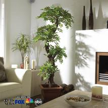 Premium Artificial Plants and Trees, Unique Japanese Fruticosa Tree, Handmade... - $138.59