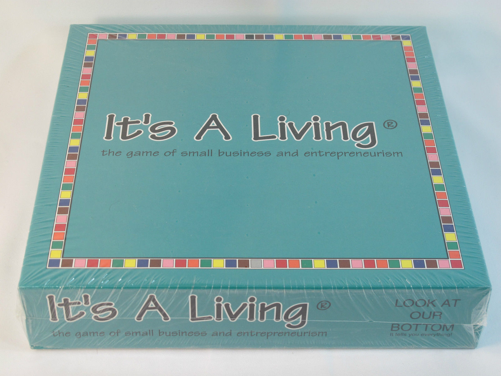 It's a Living 2005 Small Business Entrepreneur Board Game Maverick New Sealed