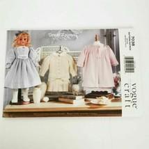 Vogue 7038 Teresa Layman 18 in Doll Fashion Uncut Pattern - $14.99