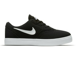 Nike SB Check (PS) Black White Preschool Canvas Skateboard Shoes 905371 003 - $44.95