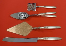 Summer Song by Lunt Sterling Silver Dessert Serving Set 4pc Custom Made - $284.05
