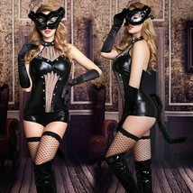 Sexy Lingerie Underwear Catgirl Cosplay Costume Role Play Babydoll Hallo... - £34.60 GBP