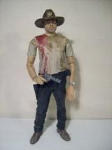AMC THE WALKING DEAD SHERIFF RICK GRIMES ACTION FIGURE 2012 SERIES 2 MCF... - $16.61