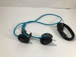 Bose SoundSport Wireless In Ear Bluetooth Headphones NFC Bose Aqua Blue Black  - $74.95