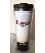 Starbucks Hawaii Travel Cup Tumbler Canoe Palms  - $30.00