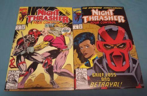 Night Thrasher: Four Control #1-4 (Complete mini series) image 3