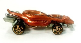 Vintage 1985 Mattel Hot Wheels Rare BRONZE Color Cobra Viper Snake Dieca... - $12.95