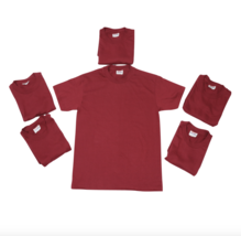 Neu Vintage 90s Hanes Herren S Menge von 6 Blank 50/50 Rockabilly Hemd W... - $89.05