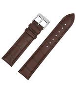 20mm Genuine Leather Watch Band Strap For CERTINA DS PODIUM Dark Brown - $15.49