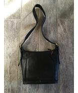Vintage COACH Legacy Black Leather Bucket Bag (No. AOC-9816) - $100.00