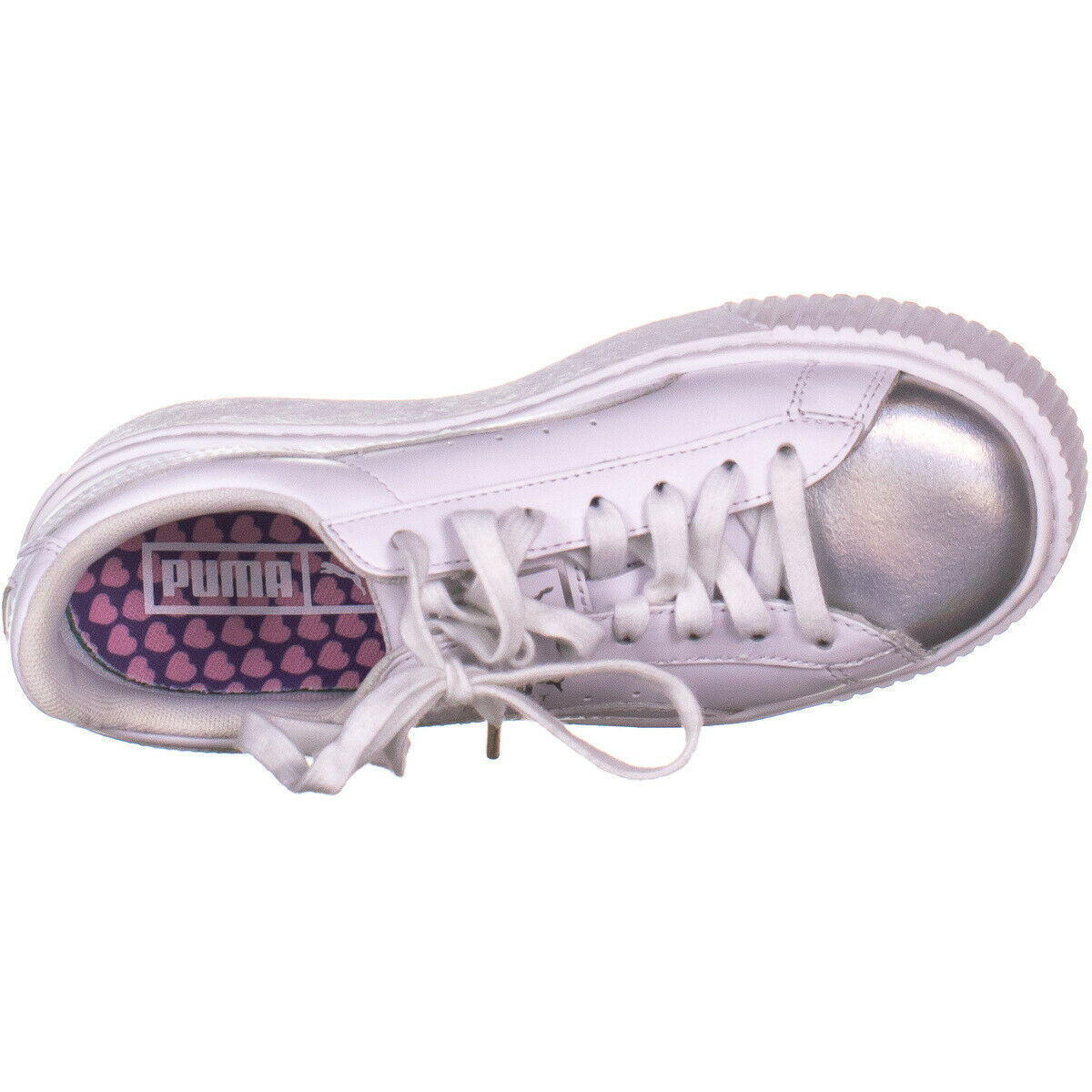 Puma 5896 Lacci Bassa Top, Bianco 877 Bianco, 6 US