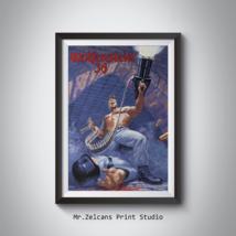 Wolfenstein 3D / Wolfenstein 3D 1994 / Wolfenstein 3D poster / Gaming po... - $21.50+