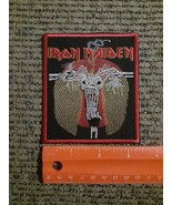 Iron Maiden Rock Band WOVEN Sew or Iron on Patch NEW - $19.60