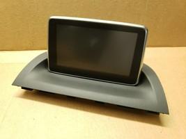 2014-16 Mazda 3 Info Information Navigation Display Screen System BHP1-61-1J0 image 1