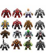 16pcs/set Marvel Minifigures Kingpin Carnage Venom Lizard Toxin Juggerna... - $64.99