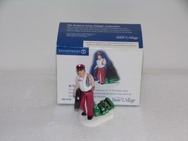 Dept 56 Snow Village At Your Service Mechanic Gas Station Attendant 5516... - $14.36
