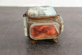 "Rare Vintage Regency 10"" Decorative Capitol Building Box Vanity Jewelry Trinket image 8"