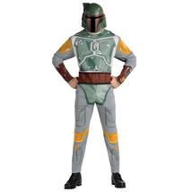 Star Wars Boba Fett Halloween Cosplay Costume Jumpsuit Onesie Mask - $30.90