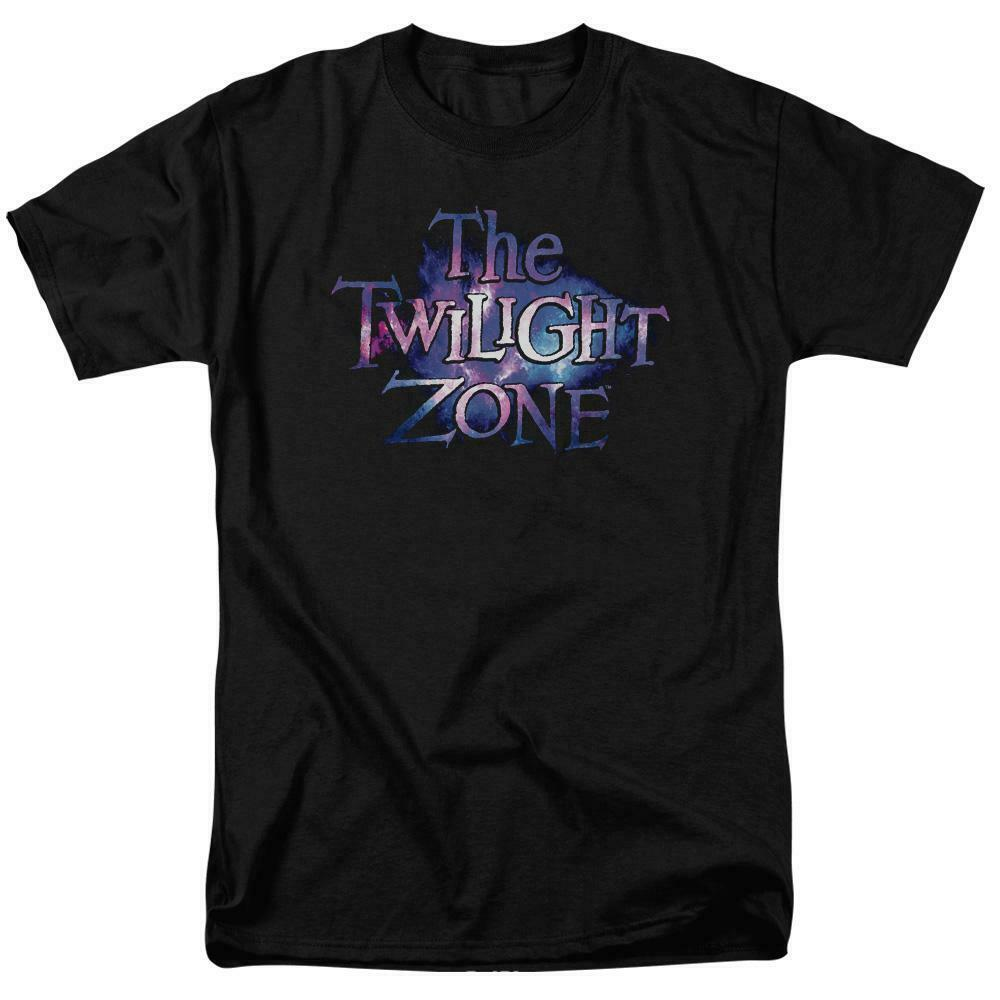 The Twilight Zone logo t-shirt retro 50s 60s fantasy tv graphic tee CBS1592