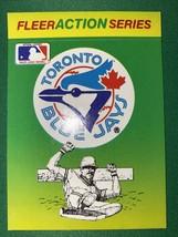 1990 Fleer Action Series Sticker Toronto Blue Jays - $1.90