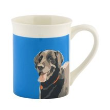 Department 56 Go Dog Black Lab Mug, 4.5 inch