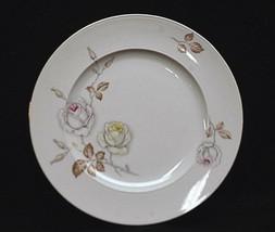 Old Vintage Sweetheart Rose Johann Haviland Salad Plate Pink Yellow Rose... - $14.84