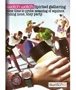 1988 Swatch Watch Fashion Vintage Print Ad 1980s - $6.34