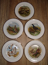 5 Collectible English Game Bird Plates - Pall M... - $23.33