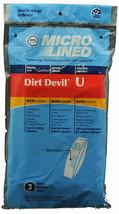 Dirt Devil Type U Vacuum Cleaner Bags 447943 - $4.68